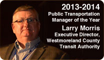 2012-2013 Public Transportation Manager of the Year. Patricia A. Moir, Executive Director Suburban Transit Network, Inc. Blue Bell, PA